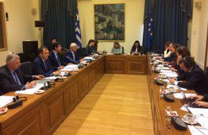 Τάσος Χατζηβασιλείου - Συνάντηση με ιταλική αντιπροσωπεία